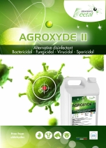 AGROXYDE II: peracetic acid based disinfectant for farm hygiene and food stuff industries