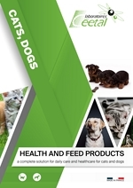 Cats and dogs range of products : hygiene, feed additives, diatary products, improve health