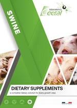 Dietary supplements for pigs