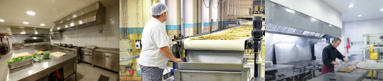 A FULL RANGE OF CLEANER PRODUCTS FOR FOODSTUFF INDUSTRIES
