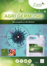 AGRIGERM 1510 - Hygiene disinfectant for farms