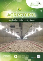 Agristeryl, disinfectant for poultry farms