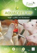 Aquaceet PP : breeding water disinfectant for farms