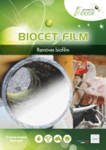 Biocet film : to remove biocet film into the breeding water pipe system