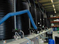 Tanks for disinfectant ans teat dip products